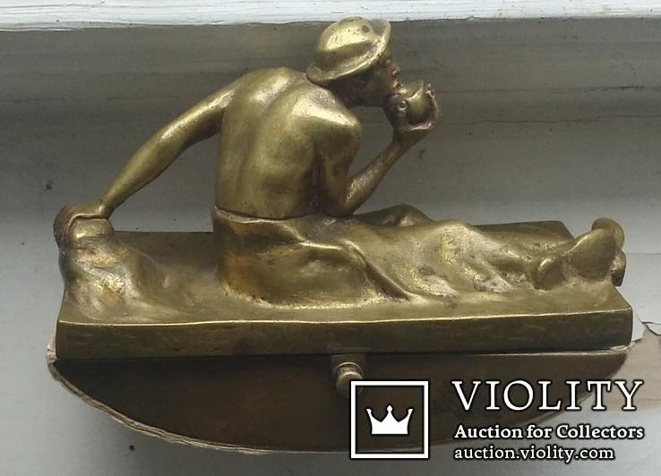 Бронзовый набор. ADOLF POHL (Адольф Поль ) 1872 - 1938 гг. Австрия., фото №10