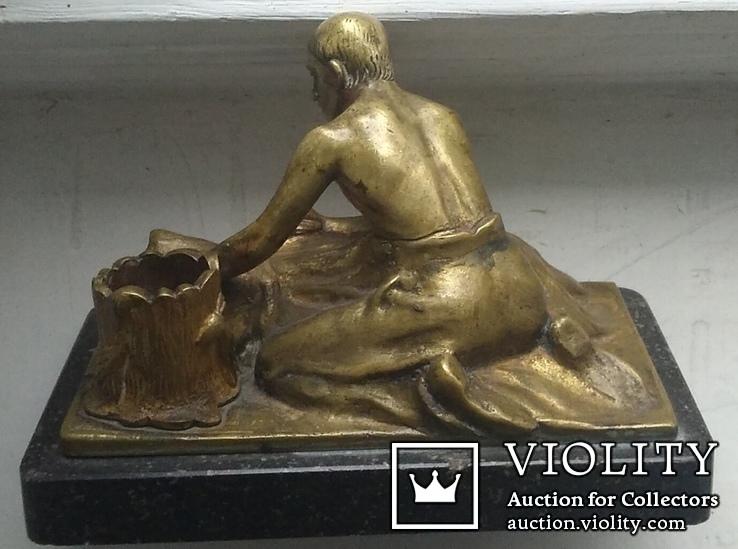 Бронзовый набор. ADOLF POHL (Адольф Поль ) 1872 - 1938 гг. Австрия., фото №5