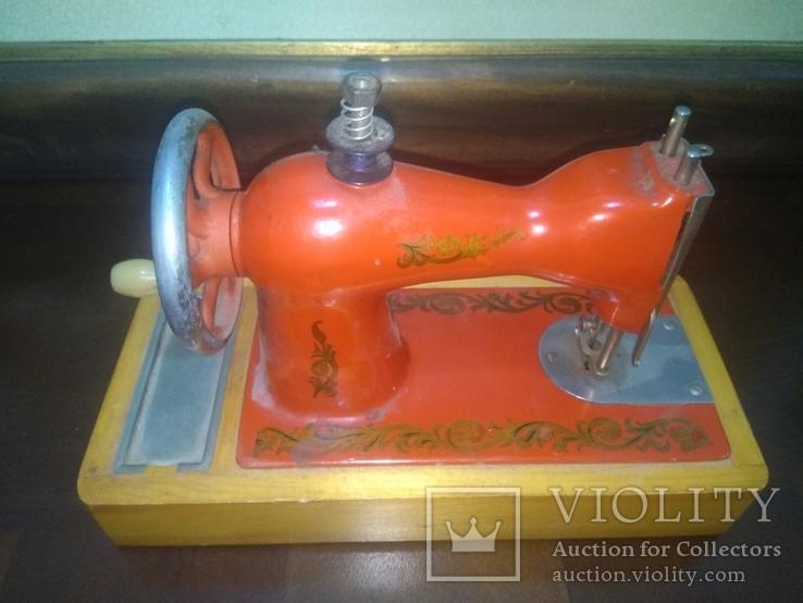 Швейная машинка детская СССР, фото №8
