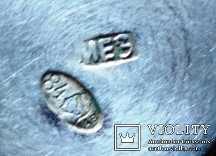 Стопка срібна 84, 1899-1908рр., Н4,7 см, 17,1 г., фото №8