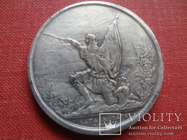 5 франков 1874 Каллен стрелковый фестиваль копия (S.4.4)~, фото №2