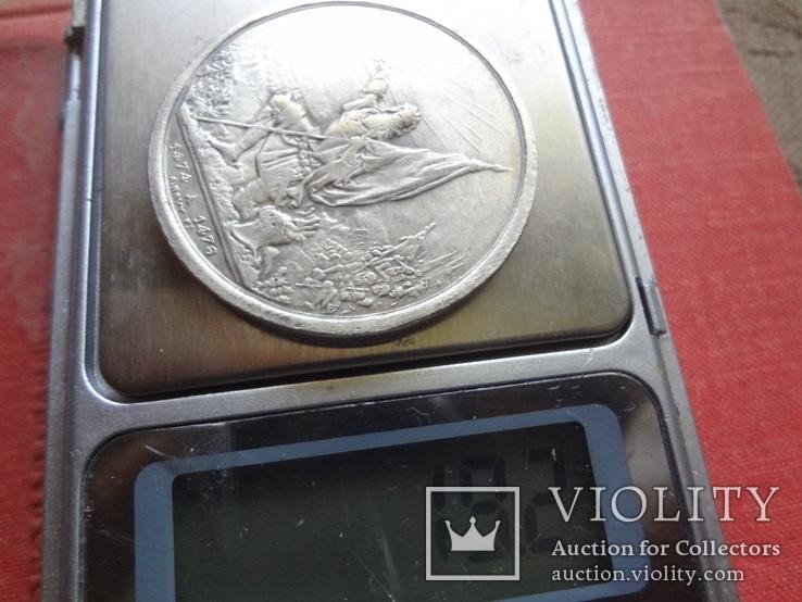 5 франков 1874 Каллен стрелковый фестиваль копия (S.4.4)~, фото №6