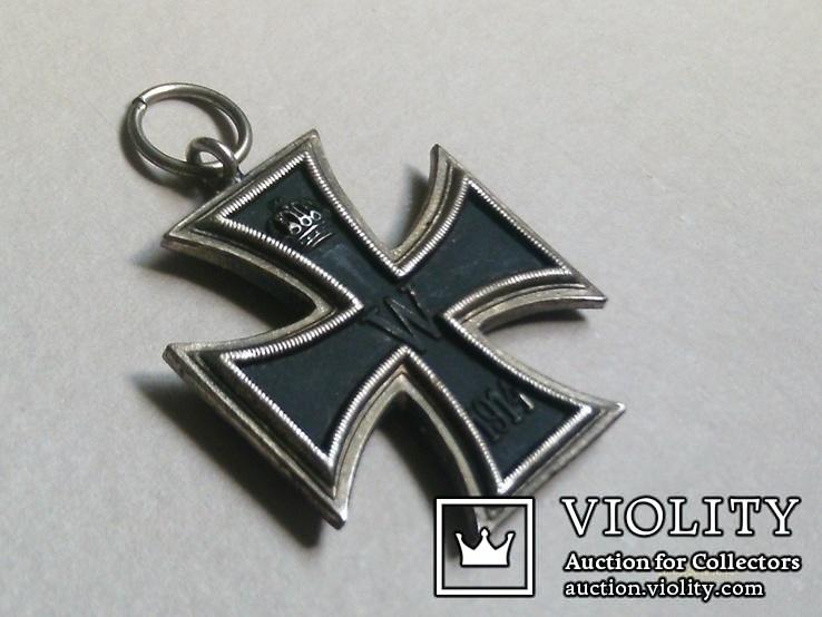 Залізний хрест 2 класу. Крест 1914 W II. Копія., фото №3