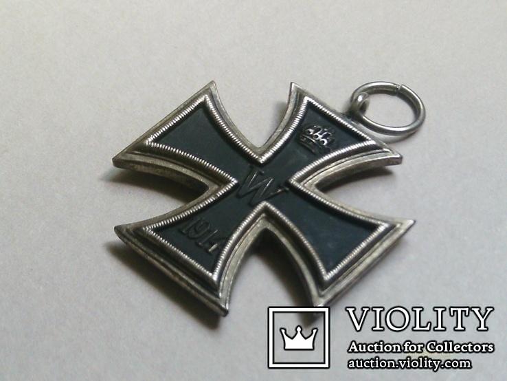 Залізний хрест 2 класу. Крест 1914 W II. Копія., фото №4