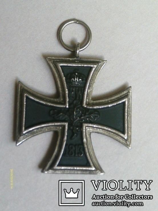 Залізний хрест 2 класу. Крест 1914 W II. Копія., фото №5