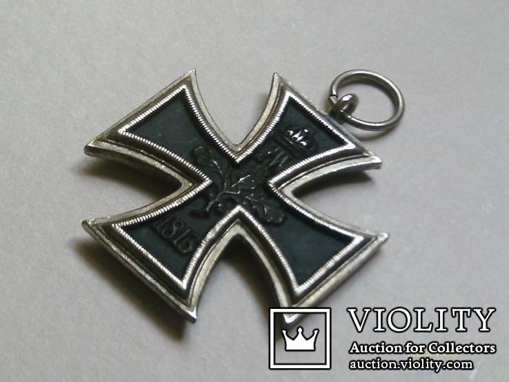 Залізний хрест 2 класу. Крест 1914 W II. Копія., фото №7
