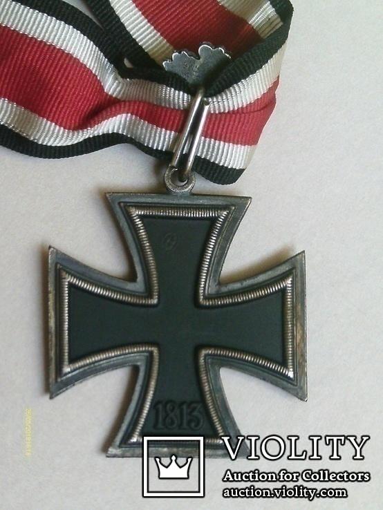 Рицарский железный крест с листьям и мечами. Реплика., фото №7
