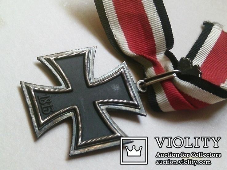 Рицарский железный крест с листьям и мечами. Реплика., фото №9