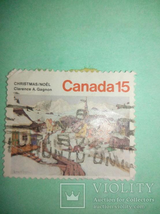 Марка Канада 15