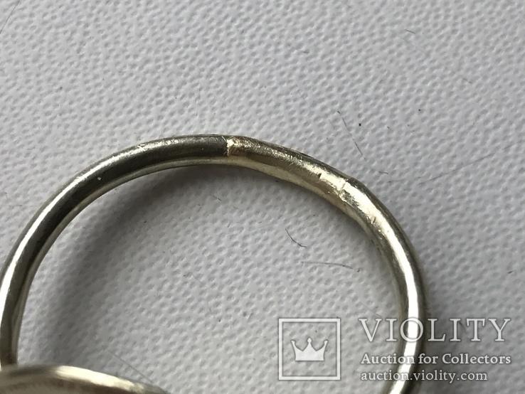 Золотой перстень с грифоном, фото №7
