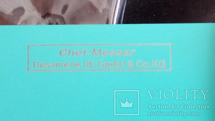 """Большой нож в упаковке"""" CHEF-MESSER"""" .Германия., фото №5"""