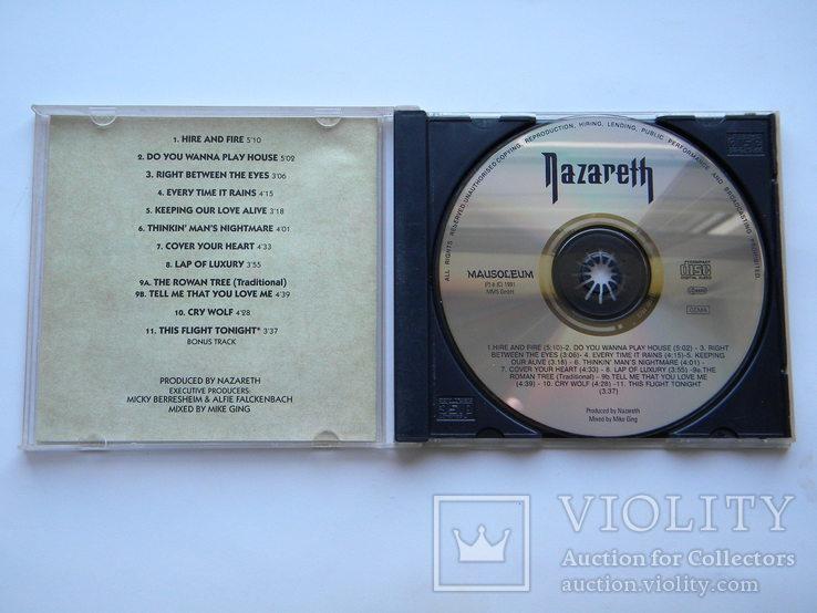 CD. Nazareth - noJive., фото №4