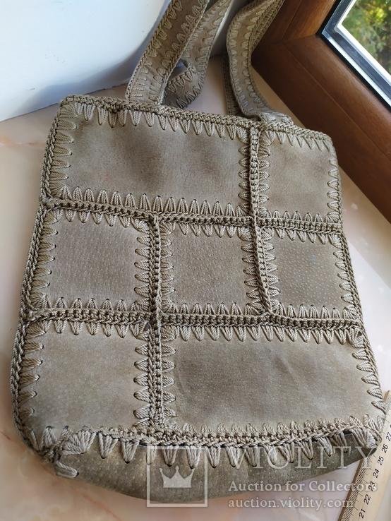 Кожаная сумка., фото №2