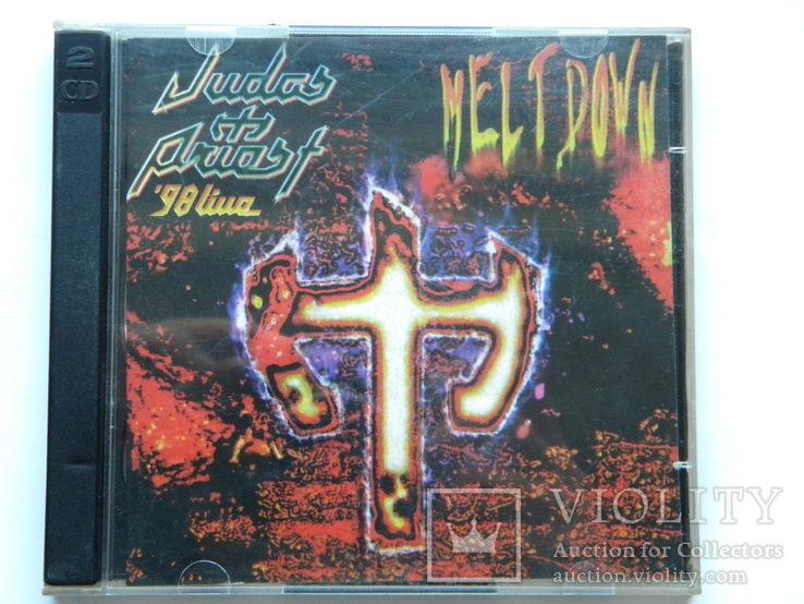 CD. Judas Priest - Melt Down, CD1-2.  98 Live., фото №2