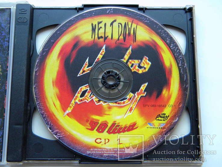 CD. Judas Priest - Melt Down, CD1-2.  98 Live., фото №5