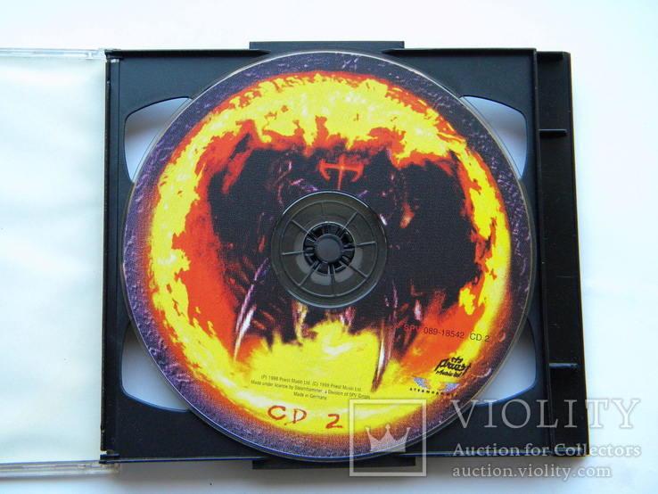 CD. Judas Priest - Melt Down, CD1-2.  98 Live., фото №6