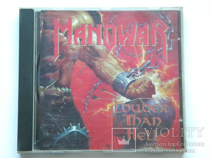CD. ManowaR - Louder Than Hell., фото №2