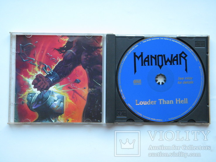 CD. ManowaR - Louder Than Hell., фото №4