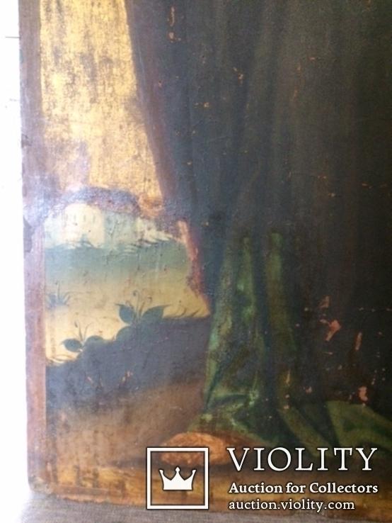 Церковна ікона Св.Матей, кінець ХVIII початок XIX ст., фото №6