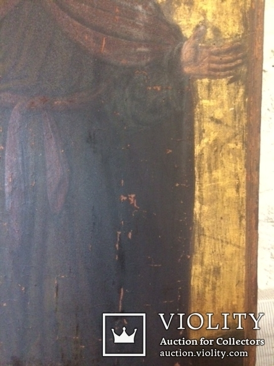 Церковна ікона Св.Матей, кінець ХVIII початок XIX ст., фото №8