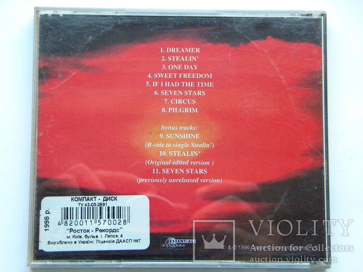 CD. Uriah Heep - Sweet Freedom., фото №3