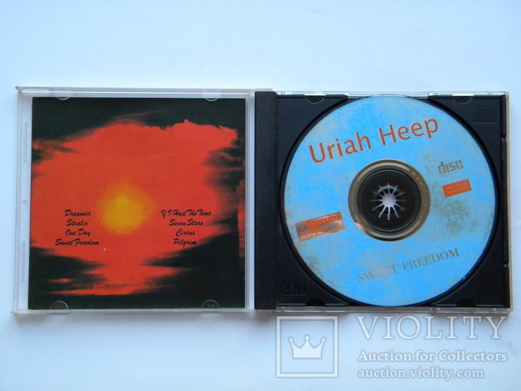 CD. Uriah Heep - Sweet Freedom., фото №4
