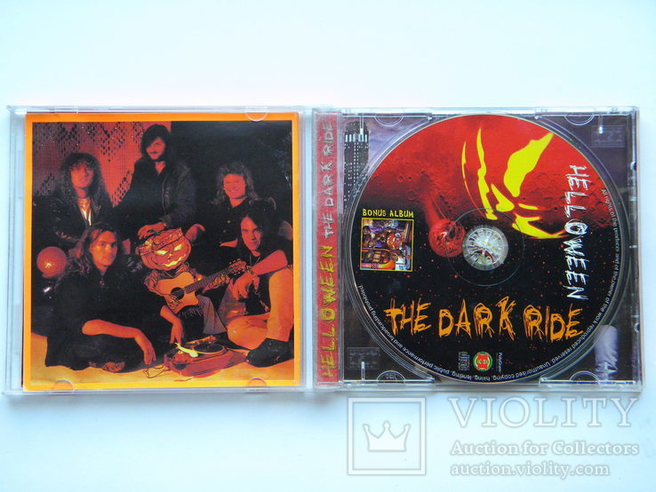 CD. HEELOWEEN - The Dark Ride., фото №4