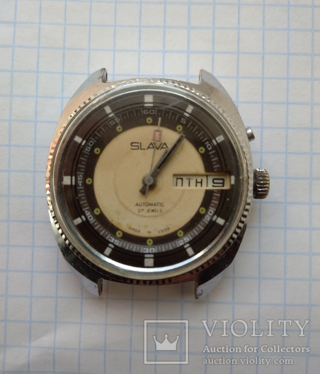 Часы Слава автоподзавод, фото №2