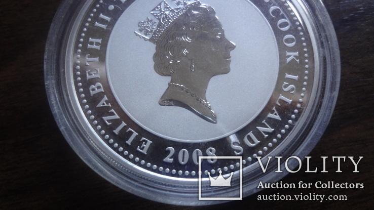 2  доллара 2008 острова Кука Стойкий оловянный солдатик Союз Мультфильм серебро 999 унция, фото №8