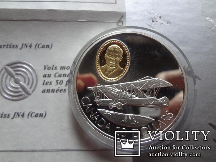 20 долларов 1992 Канада серебро, фото №2