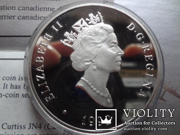 20 долларов 1992 Канада серебро, фото №5