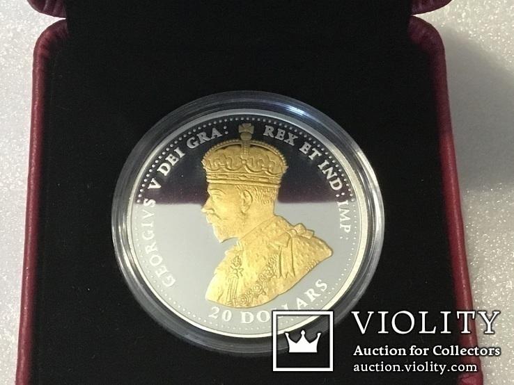 20 долларов 2018 года. Канада. Серебро, фото №5