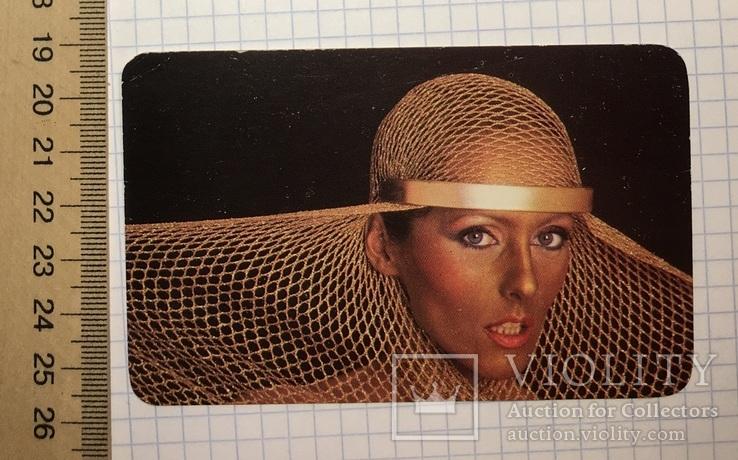 Реклама Metalloglobus, 1923–1983, 1983 г. / ФЦ Металоглобус, Бухарест (девушка, футбол), фото №2