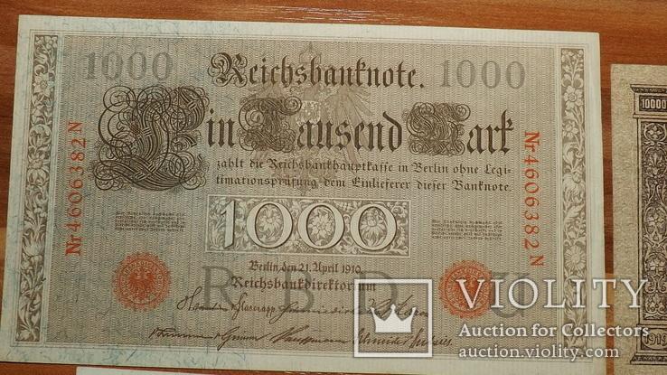 4 банкноты 1910,1919,1957 год доллар1957g777, фото №4