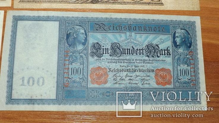 4 банкноты 1910,1919,1957 год доллар1957g777, фото №6