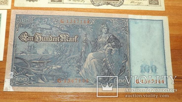 4 банкноты 1910,1919,1957 год доллар1957g777, фото №11