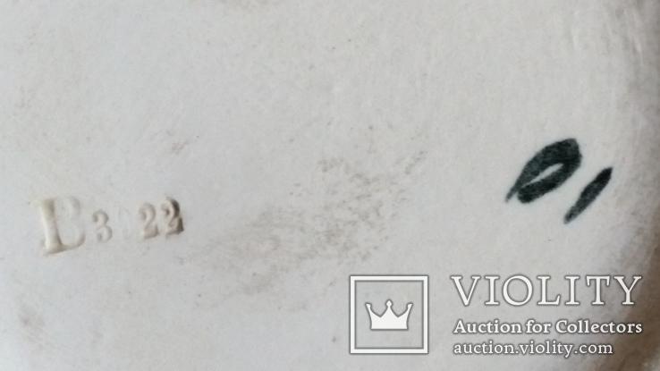 Ваза, майоліка, Франція, Н30х16,5 см, фото №8
