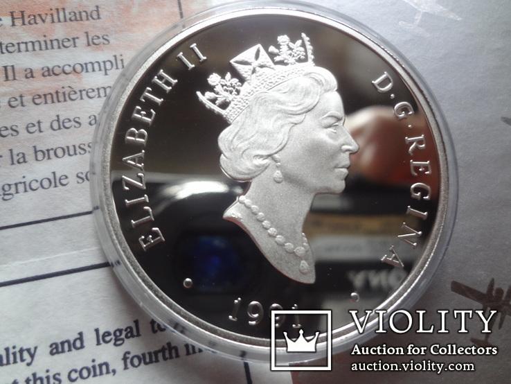 20 долларов 1991 Хевиленд Биве серебро, фото №4