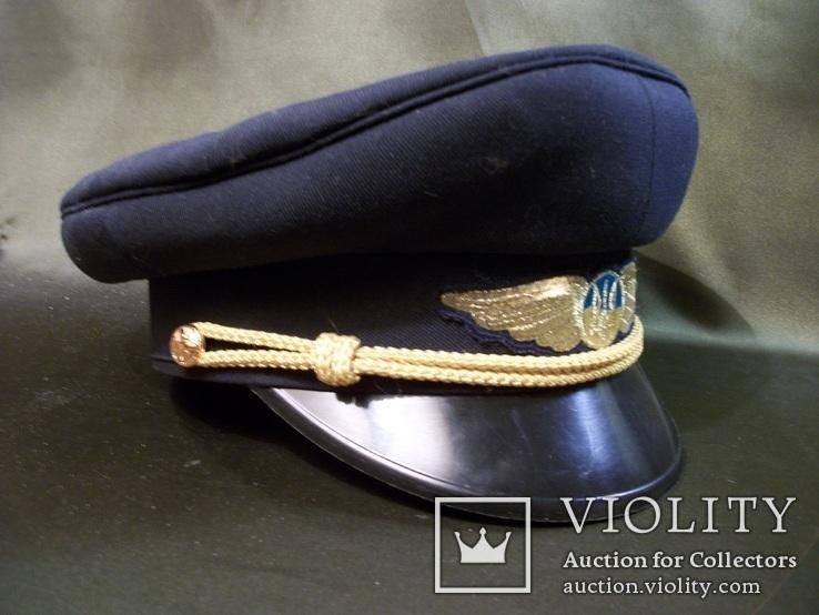 1113 Фуражка, летчик, гражданская авиация, Украина, 57-й размер, фото №4