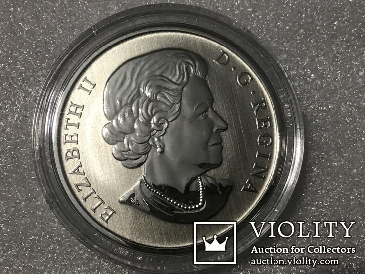 50 центов канада 2018 года. Серебро, фото №5