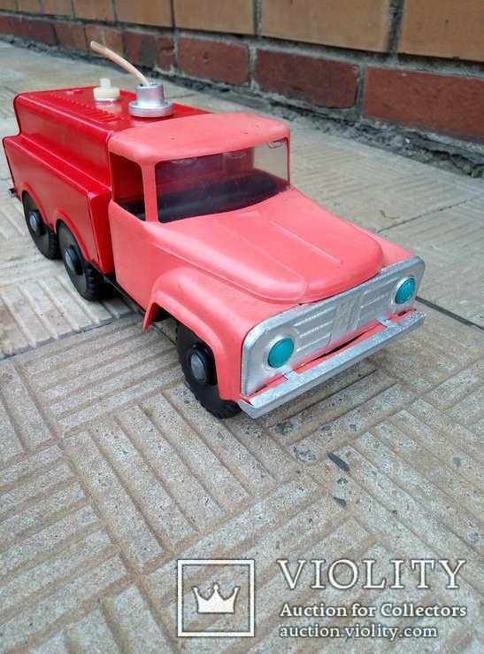Машина жестяная, пожарная, СССР, фото №2