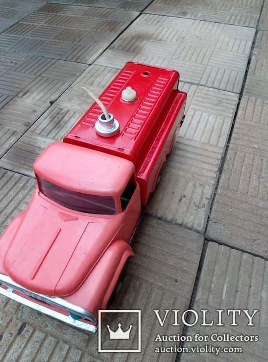 Машина жестяная, пожарная, СССР, фото №3