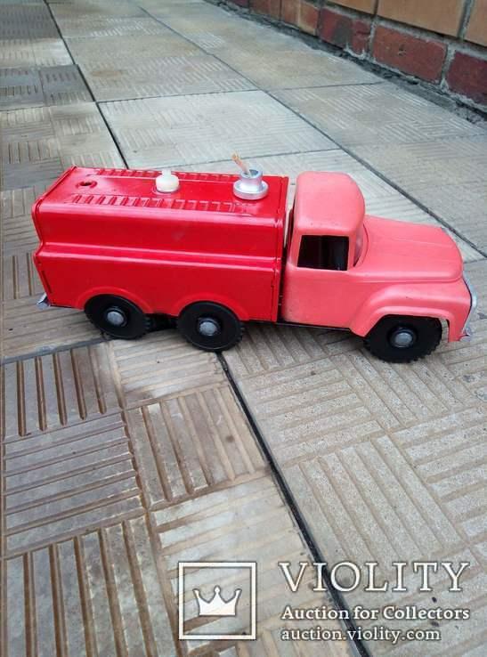 Машина жестяная, пожарная, СССР, фото №4