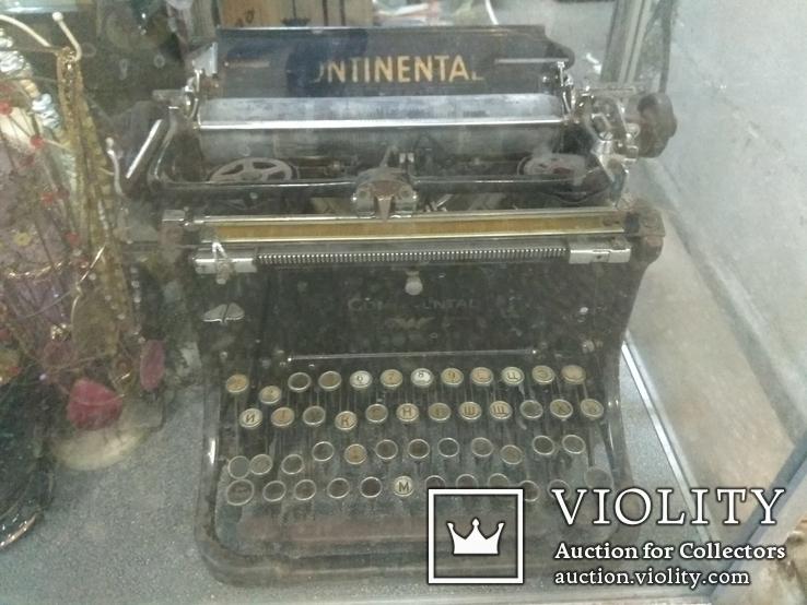 Машинка печатная Континенталь, фото №2