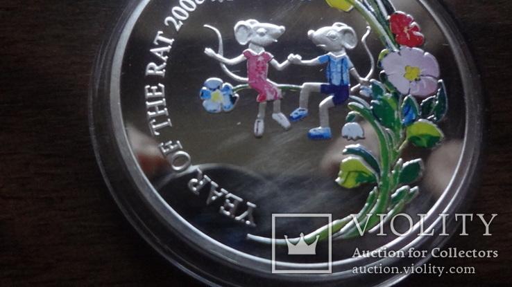 1  доллар  2007  Ниуэ  год Мыши серебро, фото №4