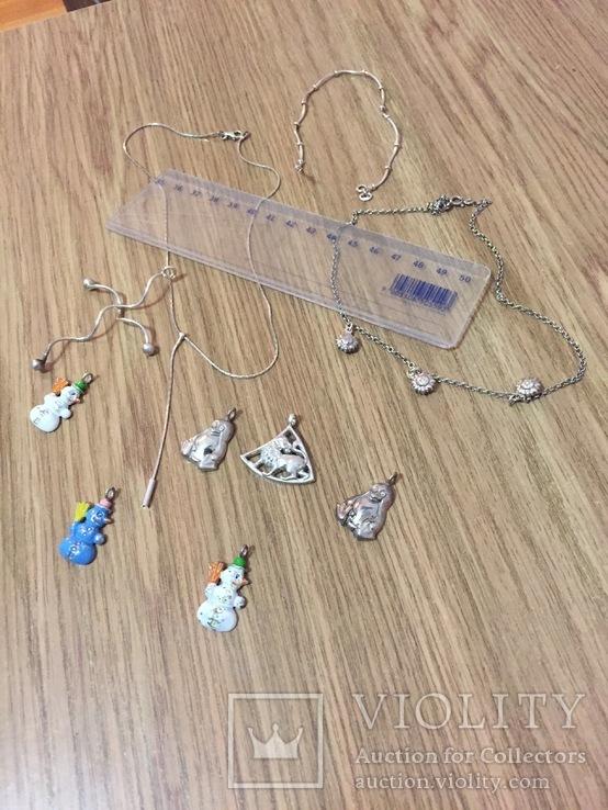 10  серебряных украшений, фото №3