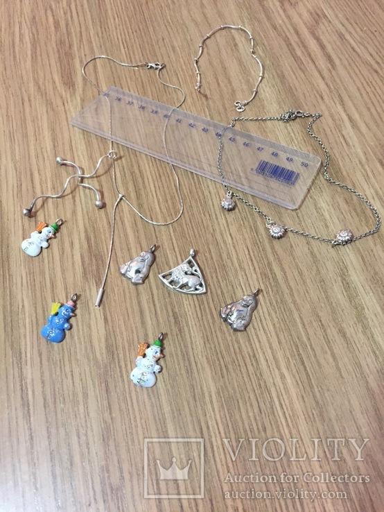 10  серебряных украшений, фото №4