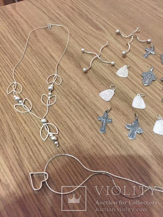 10  серебряных украшений, фото №7