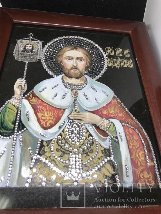 Современная Икона Святой князь Александр Невский, фото №3