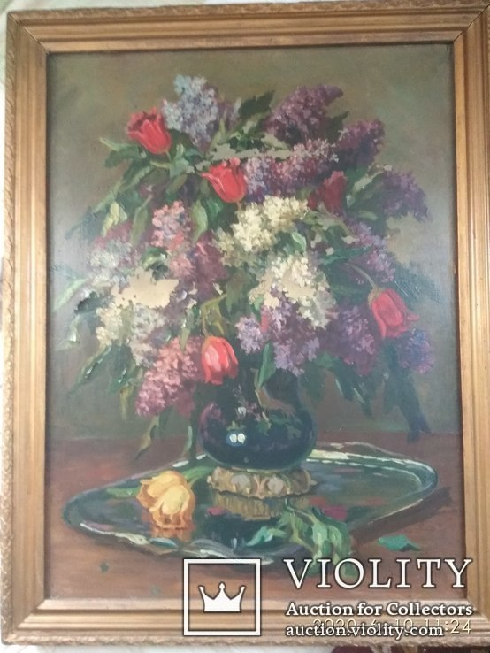 Картина оригинал,масло,холст,известный художник Супонин П.М (1898-1990).